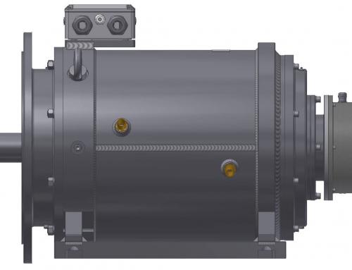 Generator synchroniczny dla MEW